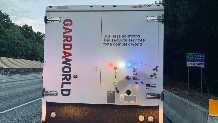 armored truck blind spots