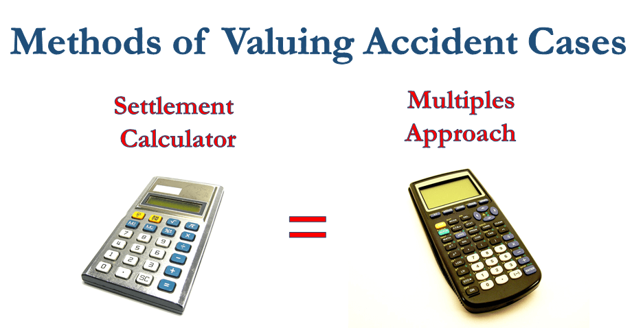 methods of valuing accident cases