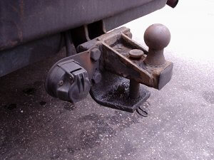 Tow Hitch Accident