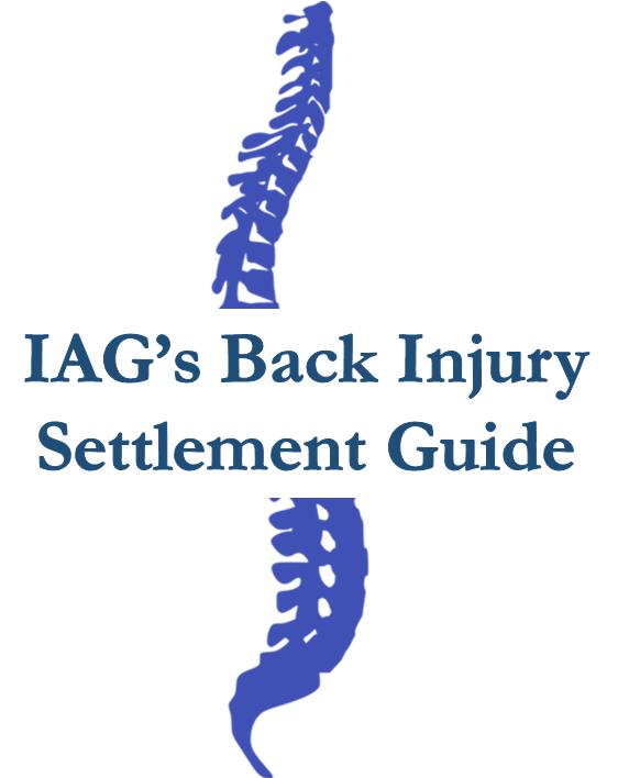 Back Injury Settlement Guide