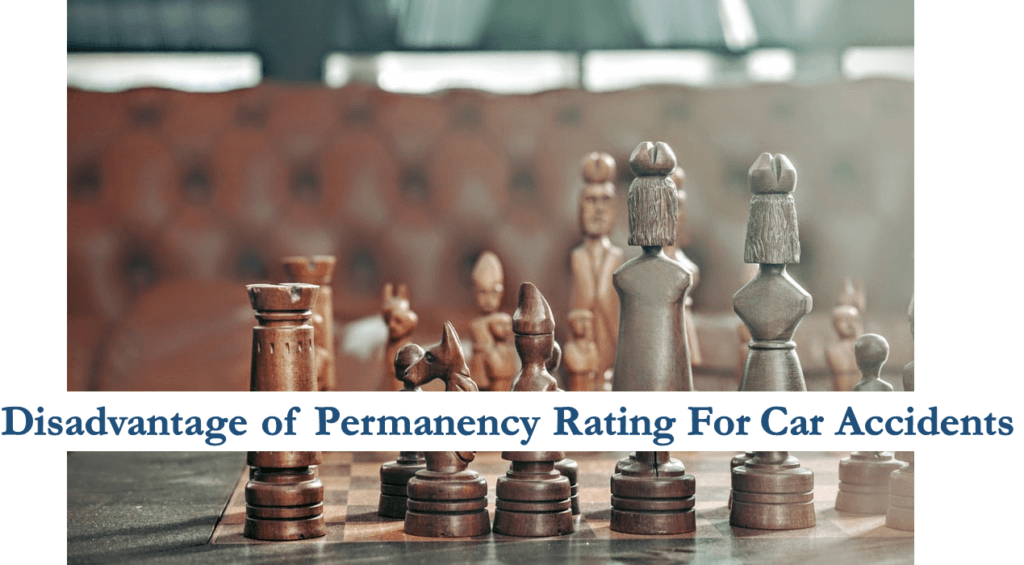 car accident permanency rating disadvantages