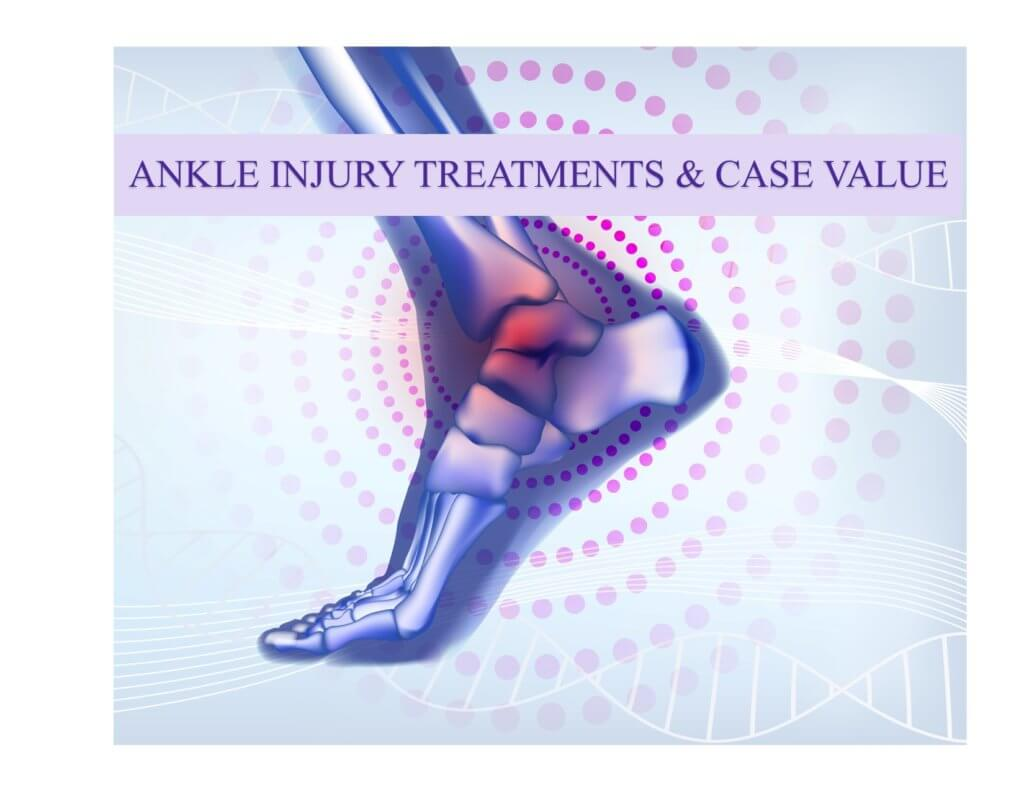 Ankle Injury Treatments and Case Values