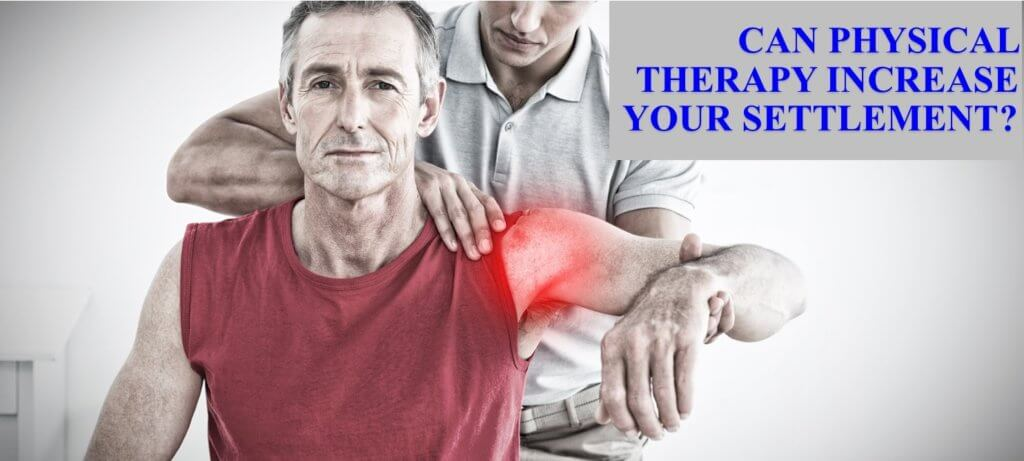 Car accident physical therapy settlement advice